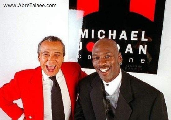 بیژن پاکزاد و مایکل جکسون بسکتبالیست امریکایی